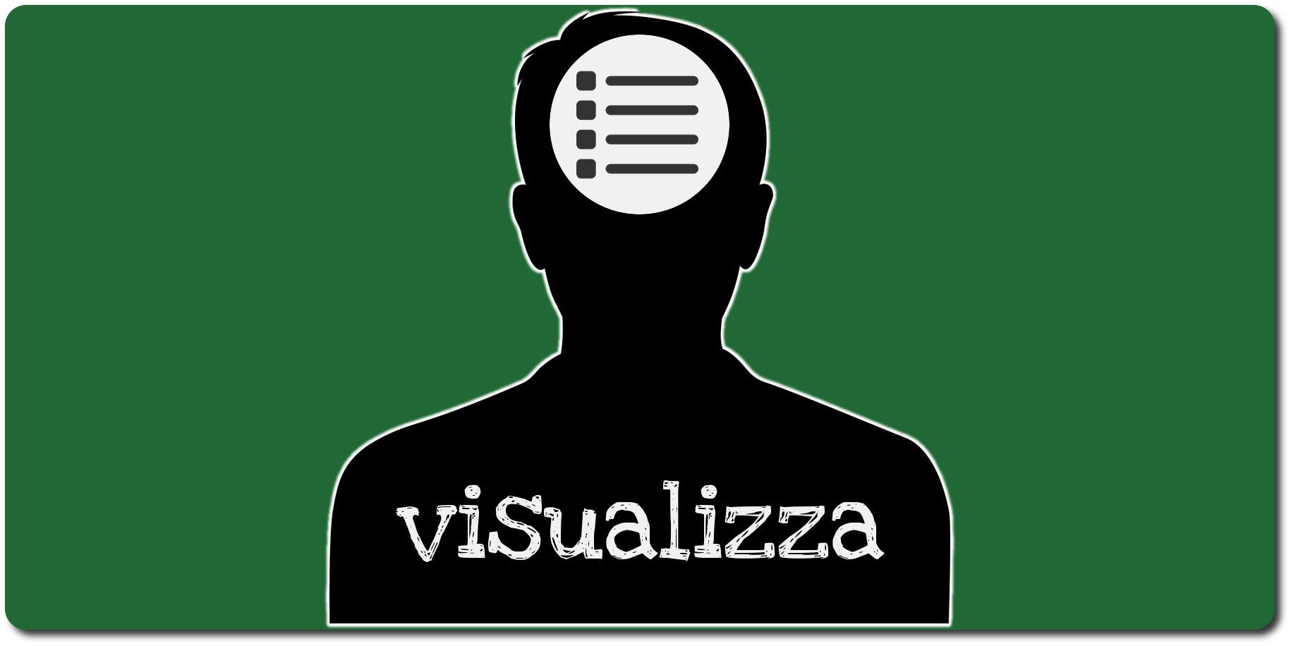 Icona Visualizza