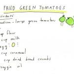 Pomodori Verdi Fritti 2